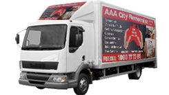 removal truck Free Boxes and Utility Services
