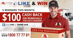 $100 cash back offer