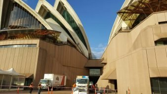 Massive Commercial Removals at the Sydney Opera House