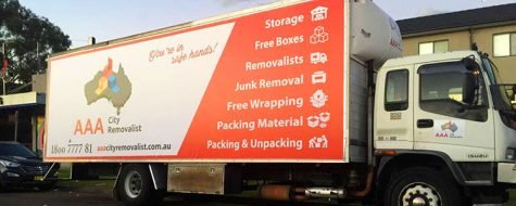 AAA City Removalist Truck