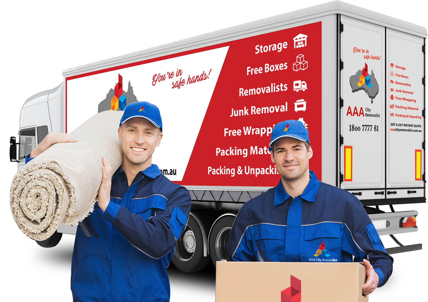 Removalists Sydney - 2 men and a truck