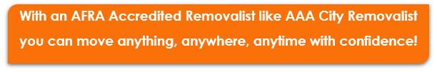 AAA City Removalist AFRA Accredited Removalist